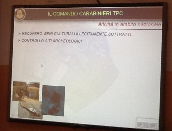 Il Passoni incontra il COMANDO CARABINIERI TPC